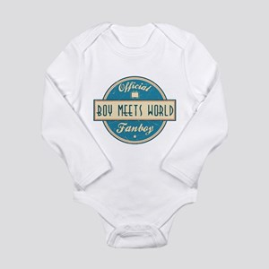 Official Boy Meets World Fanboy Long Sleeve Infant