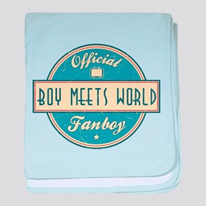 Official Boy Meets World Fanboy Infant Blanket