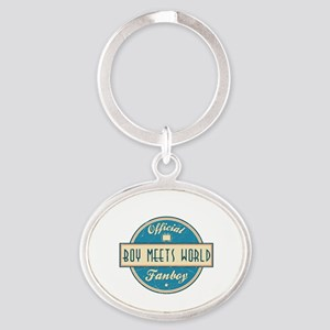 Official Boy Meets World Fanboy Oval Keychain