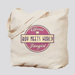Official Boy Meets World Fangirl Tote Bag