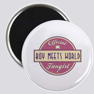 Official Boy Meets World Fangirl Magnet
