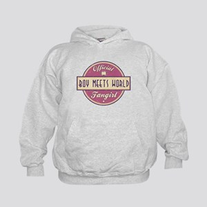 Official Boy Meets World Fangirl Kid's Hoodie