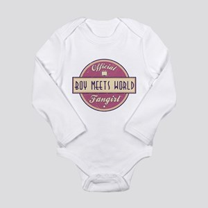 Official Boy Meets World Fangirl Long Sleeve Infan