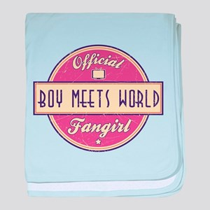 Official Boy Meets World Fangirl Infant Blanket