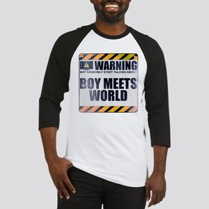 Warning: Boy Meets World Baseball Jersey