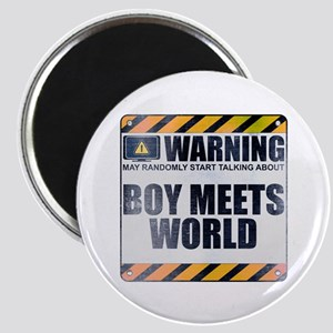 Warning: Boy Meets World Magnet