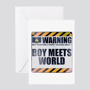 Warning: Boy Meets World Greeting Card
