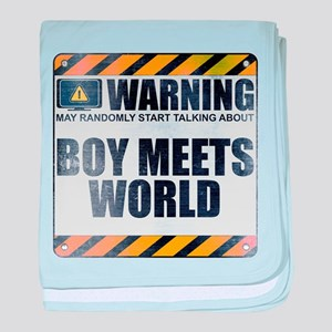 Warning: Boy Meets World Infant Blanket