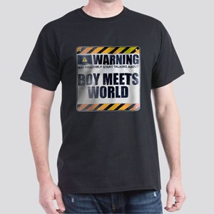 Warning: Boy Meets World Dark T-Shirt