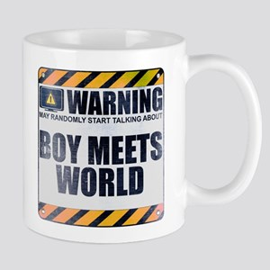 Warning: Boy Meets World Mug