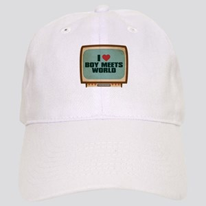 Retro I Heart Boy Meets World Cap