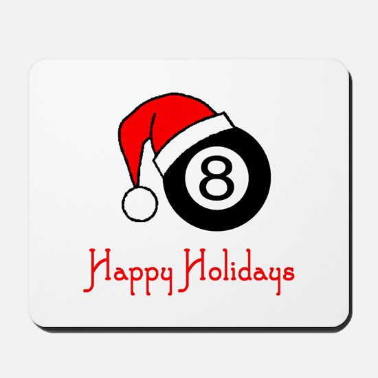 PoolChick Happy Holidays Mousepad