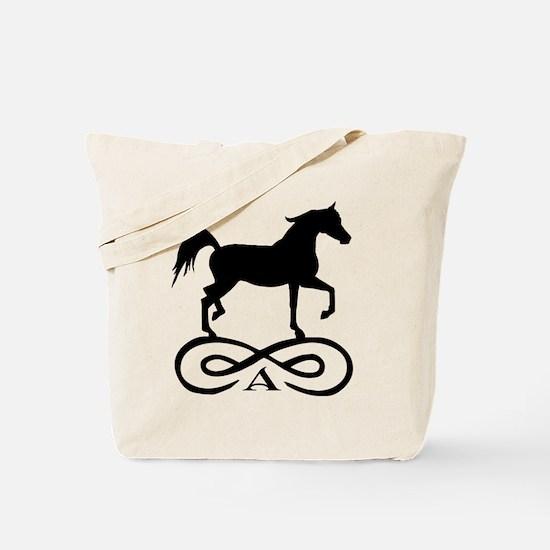 Infinity Arabian Horse Tote Bag