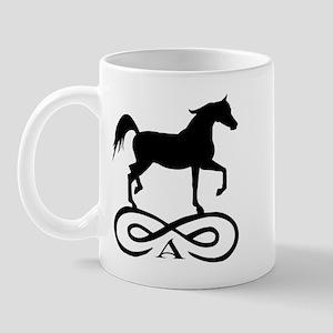 Infinity Arabian Horse Mug