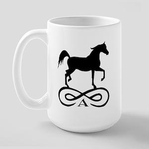 Infinity Arabian Horse Large Mug
