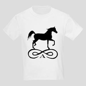 Infinity Arabian Horse Kids Light T-Shirt