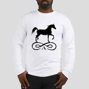Infinity Arabian Horse Long Sleeve T-Shirt