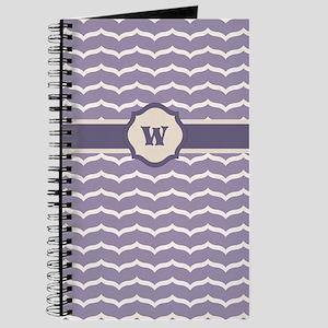 Flourished Zigzag Journal