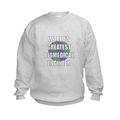 World's Greatest Biomedical E Kids Sweatshirt
