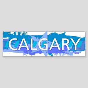 Calgary Deisgn Bumper Sticker