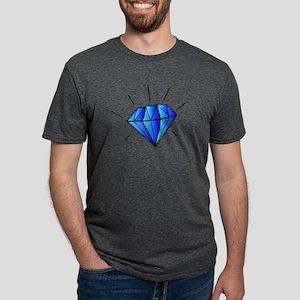 Animated Shining Blue Diamond T-Shirt