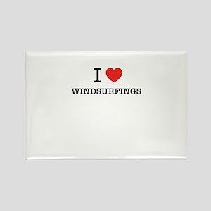 I Love WINDSURFINGS Magnets