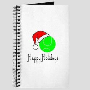 TennisChick Happy Holidays II Journal