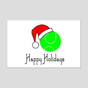 TennisChick Happy Holidays II Mini Poster Print