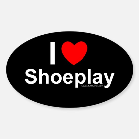 Shoeplay Sticker (Oval)