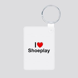 Shoeplay Aluminum Photo Keychain