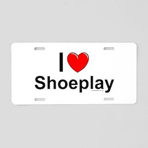 Shoeplay Aluminum License Plate