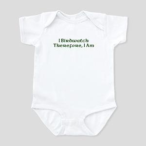 I Birdwatch Therefore I Am Infant Bodysuit