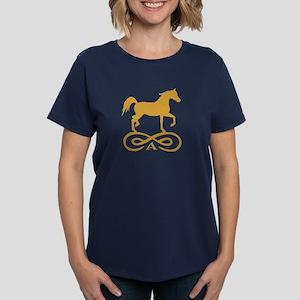 Gold Infinity Arabian Women's Dark T-Shirt