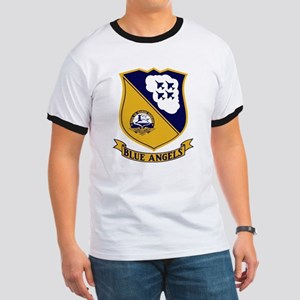 Blue Angels Patch - A-4 Women's Cap Sleeve T-Shirt
