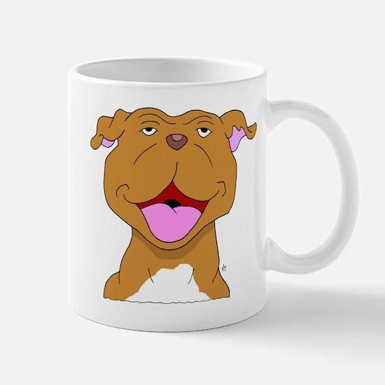 Smiling Pit Bull Terrier Mug