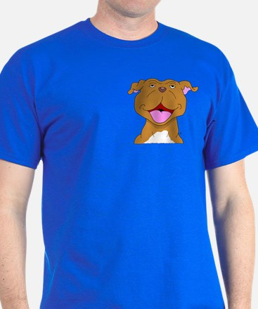 Smiling Pit Bull Terrier T-Shirt