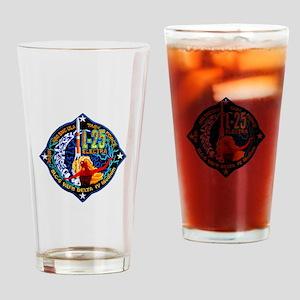 NROL-25 Electra Logo Drinking Glass