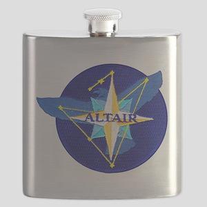 NROL-25 Altair Logo Flask