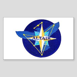 NROL-25 Altair Logo Sticker (Rectangle)