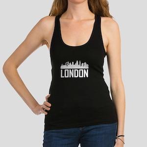 Skyline of London England Racerback Tank Top