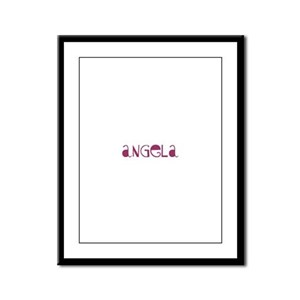 Angela Framed Panel Print