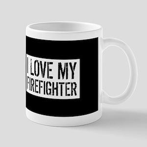 Firefighter: I Love My Firefighter (Bla Mug
