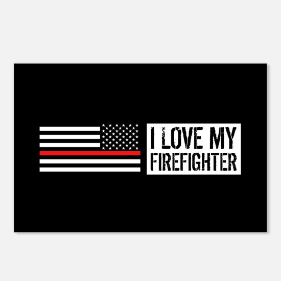 Firefighter: I Love My Fi Postcards (Package of 8)