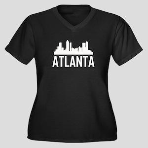 Skyline of Atlanta GA Plus Size T-Shirt