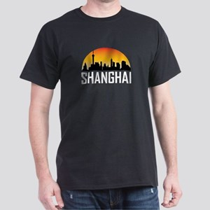 Sunset Skyline of Shanghai China T-Shirt