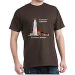 Fort Gratiot Lighthouse Dark T-Shirt