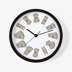 money clock Wall Clock