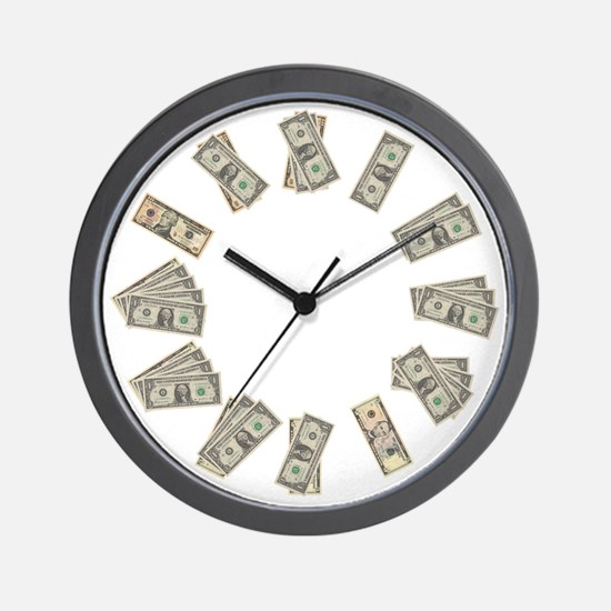 money clock Wall Clock