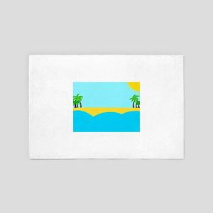 Sunny beach 4' x 6' Rug