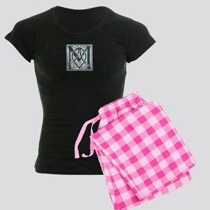 Monogram - MacAlpine Women's Dark Pajamas